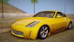 Nissan 350Z Turkey Tuned Drift para GTA San Andreas