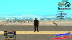 C-HUD by Radion edited SampHack para GTA San Andreas