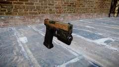 Pistola Glock 20 de la selva