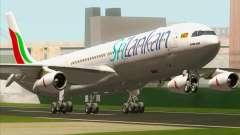 Airbus A340-313 SriLankan Airlines para GTA San Andreas