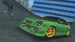 Subaru Impreza WRX 2002 Type 3 para GTA Vice City