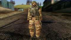 Soldados de MEK (Battlefield 2) la Piel de 1 para GTA San Andreas