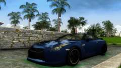 Nissan GT-R SpecV Black Revel para GTA Vice City