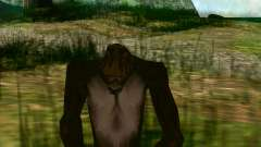 Sasquatch (Bigfoot) en el monte Chiliad para GTA San Andreas