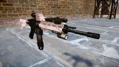 Automatic rifle Colt M4A1 cereza blososm
