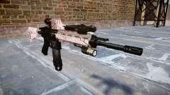 Automatic rifle Colt M4A1 cereza blososm para GTA 4