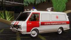 RAF 22031 Letonia - Ambulancia para GTA San Andreas