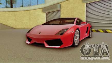 Lamborghini Gallardo LP 560-4 para GTA Vice City
