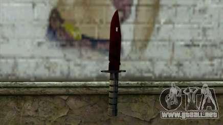 Bayonet M9 para GTA San Andreas