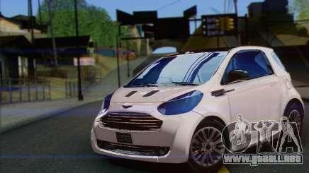 Aston Martin Cygnet para GTA San Andreas