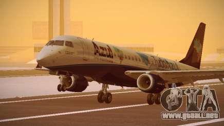 Embraer E190 Azul Tudo Azul para GTA San Andreas