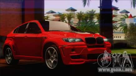 BMW X6M Lumma para GTA San Andreas