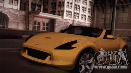 Nissan 370Z Roadster para GTA San Andreas