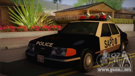 GTA 3 Police Car para GTA San Andreas