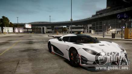 Koenigsegg Agera One:1 air core para GTA 4