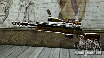 Nitro Sniper Rifle para GTA San Andreas