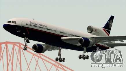 Lockheed L-1011 TriStar British Airways para GTA San Andreas