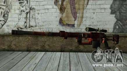Sniper Rifle from PointBlank v3 para GTA San Andreas