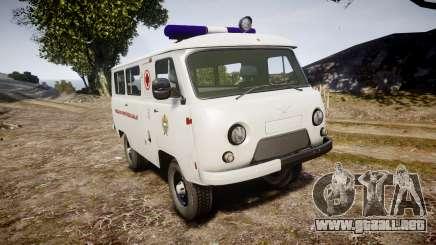 UAZ-39629 ambulancia Hungría para GTA 4