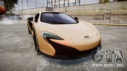 McLaren 650S Spider 2014 [EPM] Pirelli v2 para GTA 4