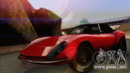 Grotti Stinger 1.0 (IVF) para GTA San Andreas