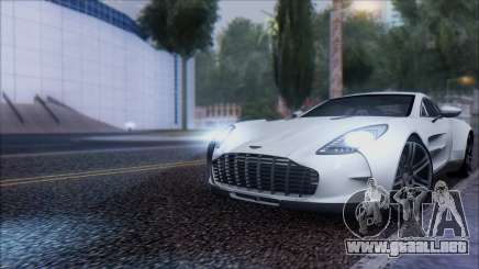 Aston Martin One-77 para GTA San Andreas