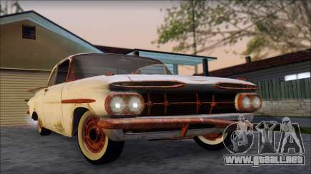 Chevrolet Biscayne 1959 Ratlook para GTA San Andreas