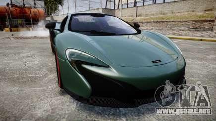 McLaren 650S Spider 2014 [EPM] Bridgestone v2 para GTA 4
