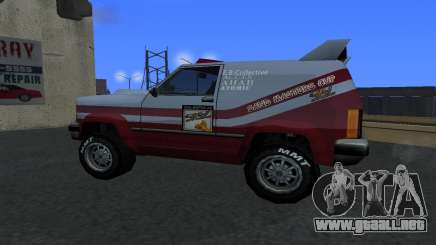 Actualizado Sandking para GTA San Andreas