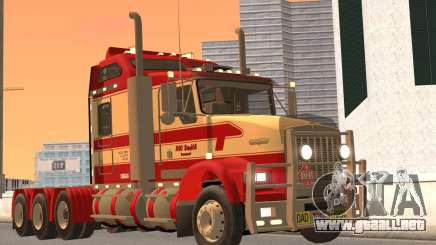 Kenworth T800 Road Train 8X6 para GTA San Andreas