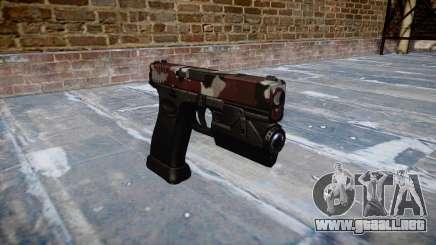 Pistola Glock 20 son inyectados de sangre. para GTA 4