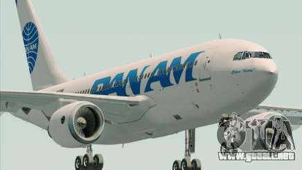 Airbus A310-324 Pan American World Airways para GTA San Andreas