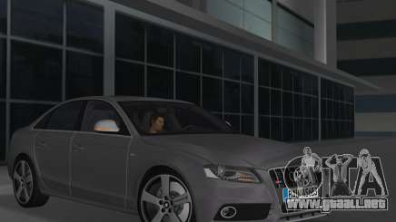 Audi S4 (B8) 2010 - Metallischen para GTA Vice City