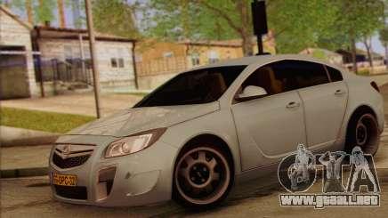 Opel Insignia OPC ATS Cup para GTA San Andreas