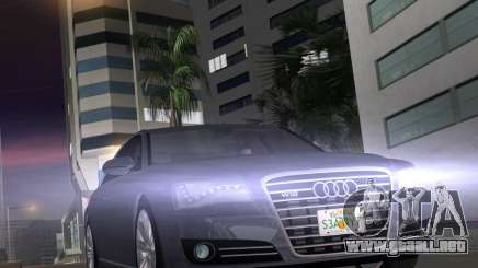 Audi A8 2010 W12 Rim1 para GTA Vice City