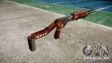 Ружье Franchi SPAS-12 Tocino para GTA 4 segundos de pantalla