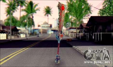 Меч (World Of Warcraft) v2 para GTA San Andreas segunda pantalla