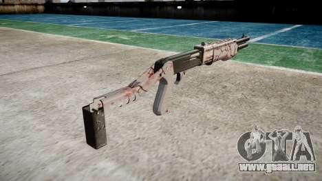 Ружье Franchi SPAS-12 de los Cerezos en flor para GTA 4 segundos de pantalla
