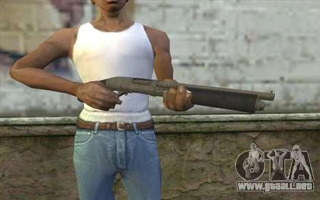 Remington 870 v1 para GTA San Andreas tercera pantalla