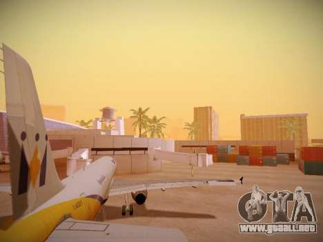 Airbus A321-232 Monarch Airlines para GTA San Andreas