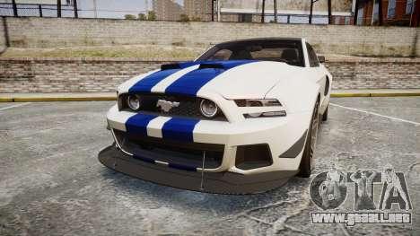Ford Mustang GT 2014 Custom Kit PJ2 para GTA 4