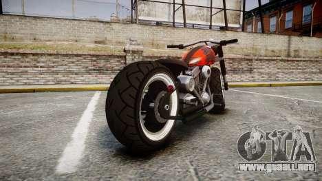 Steel Horse Zombie para GTA 4 Vista posterior izquierda