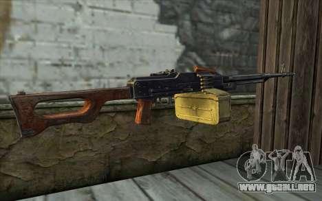 La Ametralladora Kalashnikov Modernizado para GTA San Andreas segunda pantalla