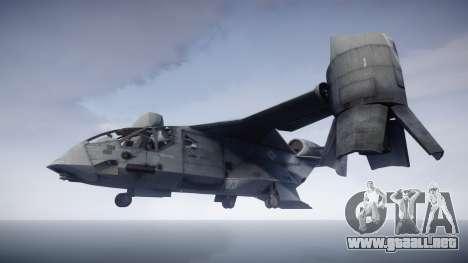 VTOL Warship PJ1 para GTA 4