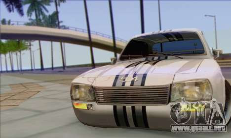 Peugeot 504 Drift Tuning para la visión correcta GTA San Andreas