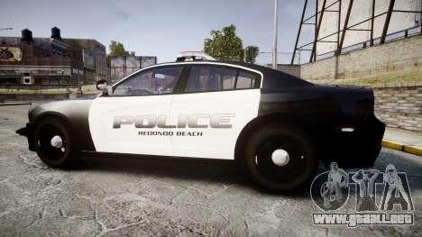 Dodge Charger 2014 Redondo Beach PD [ELS] para GTA 4 left