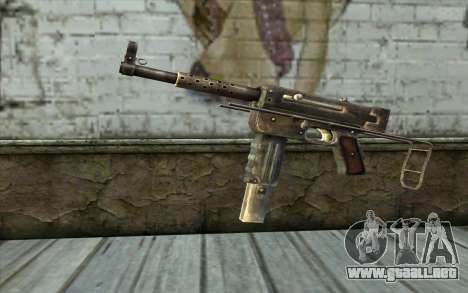 MAT-49 from Battlefield: Vietnam para GTA San Andreas