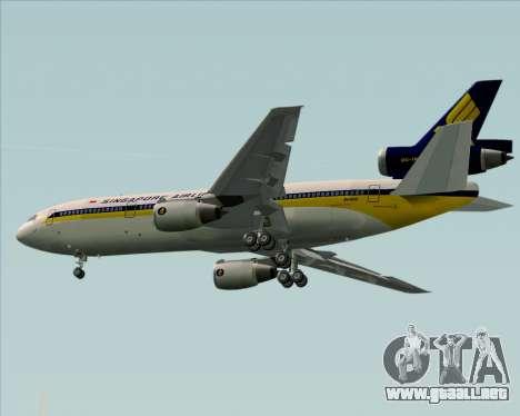 McDonnell Douglas DC-10-30 Singapore Airlines para el motor de GTA San Andreas