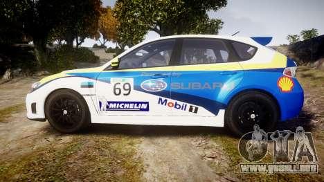 Subaru Impreza Cosworth STI CS400 2010 Custom para GTA 4 left