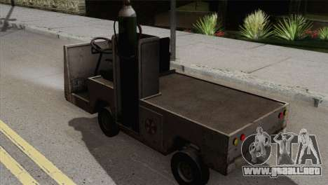 Umbrella Cart para GTA San Andreas left
